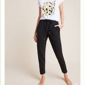 Anthropologie Dylan cropped joggers